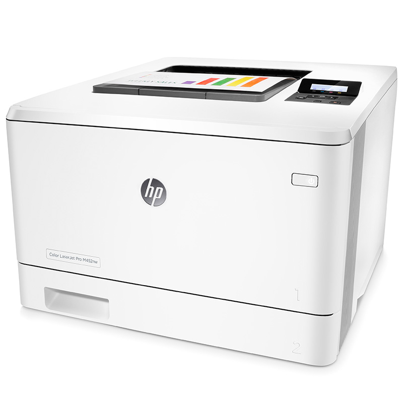 惠普(HP)彩色激光打印机LaserJet Pro 400 color Printer M452dn彩色激光打印机)